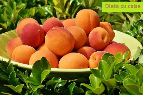 dieta cu caise de vara
