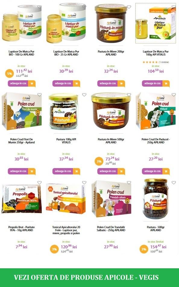 produse apicole romanesti vegis
